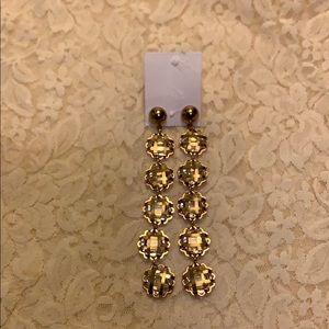 ESTATE Earrings Gold Plated Pre Loved